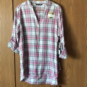 Brand new flannel top